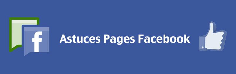 Astuces page facebook